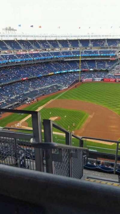 Yankee Stadium, vak: 414, rij: 7, stoel: 25