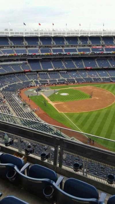 Yankee Stadium, vak: 409, rij: 3, stoel: 3