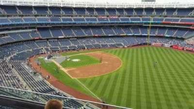 Yankee Stadium, vak: 409, rij: 3, stoel: 6