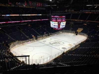 Bridgestone Arena, vak: 305, rij: G, stoel: 12