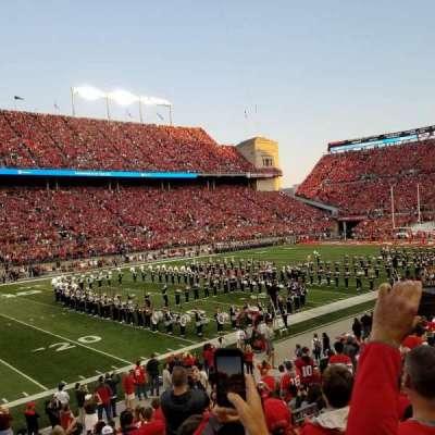 Ohio Stadium, vak: 15A, rij: 5, stoel: 5