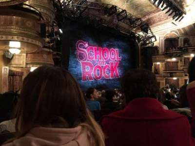 Winter Garden Theatre, vak: ORCHO, rij: P, stoel: 33