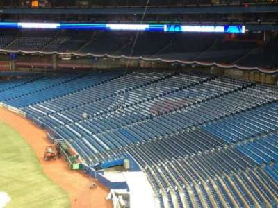 Rogers Centre, vak: Press Box