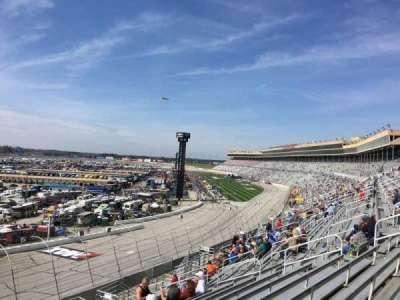 Atlanta Motor Speedway, vak: 106, rij: 14, stoel: 1