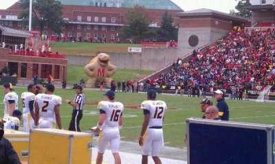 Maryland Stadium, vak: 6, rij: A, stoel: 1