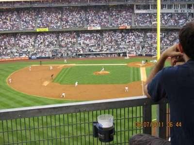 Yankee Stadium, vak: 3S, rij: 9SR, stoel: 16