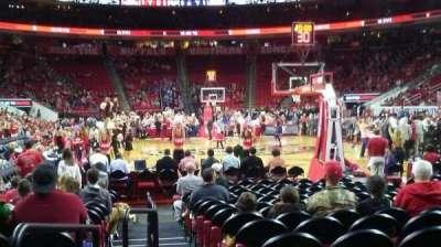 PNC Arena, vak: 127, rij: E, stoel: 9