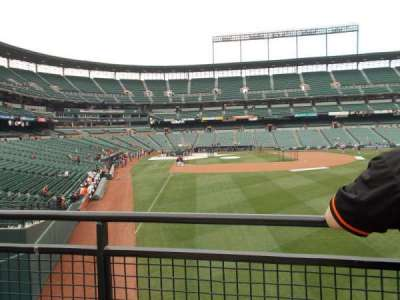 Oriole Park at Camden Yards, vak: Right Field Standing Room Only