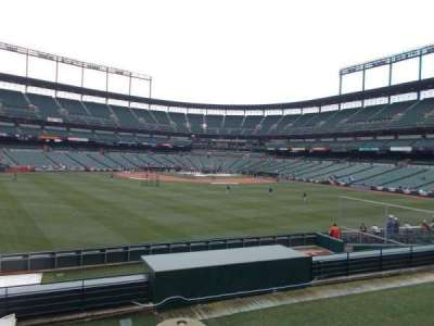 Oriole Park at Camden Yards, vak: Center Field Standing Rm Only