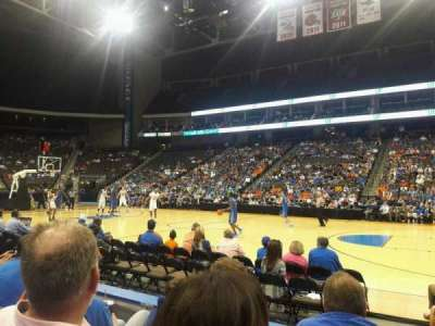 Jacksonville Veterans Memorial Arena, vak: 102, rij: C, stoel: 11