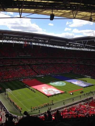 Wembley Stadium, vak: 506, rij: 20, stoel: 174