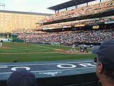 Oriole Park at Camden Yards, vak: 50, rij: CC, stoel: 8