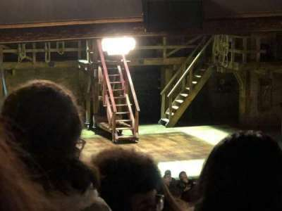 Richard Rodgers Theatre, vak: Orchestra Left of Center Stage, rij: X, stoel: 15