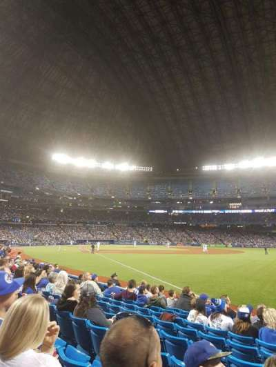 Rogers Centre, vak: 113dl, rij: 9, stoel: 101