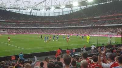 Emirates Stadium, vak: 26, rij: 11, stoel: 821