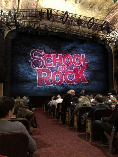 Winter Garden Theatre, vak: Left Orchestra, rij: O, stoel: 1