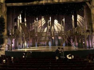 Richard Rodgers Theatre, vak: Center Orchestra, rij: L, stoel: 106