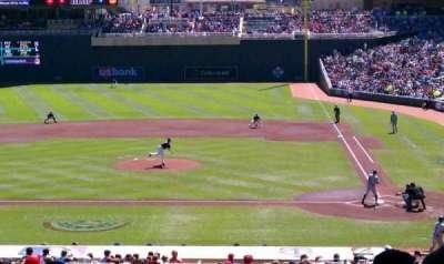 Target Field, vak: 118, rij: 24, stoel: 19