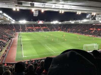 St Mary's Stadium, vak: Away Section Block 46, rij: LL, stoel: 1192
