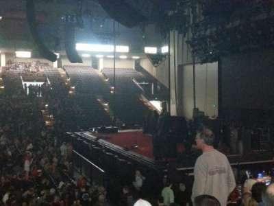 Royal Farms Arena, vak: 106, rij: M, stoel: 14