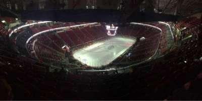 PNC Arena, vak: 310, rij: N