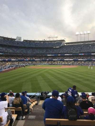 Dodger Stadium, vak: 306PL, rij: M, stoel: 1