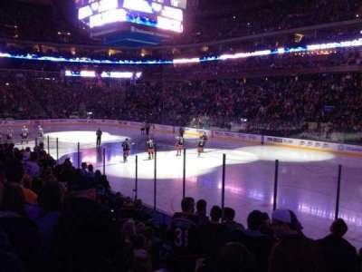 Nationwide Arena, vak: 101, rij: M, stoel: 7