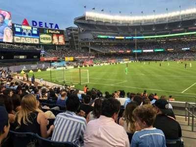 Yankee Stadium, vak: 133, rij: 10, stoel: 1