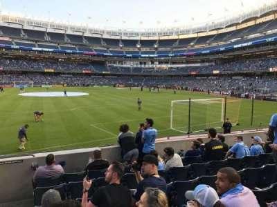 Yankee Stadium, vak: 136, rij: 7, stoel: 24