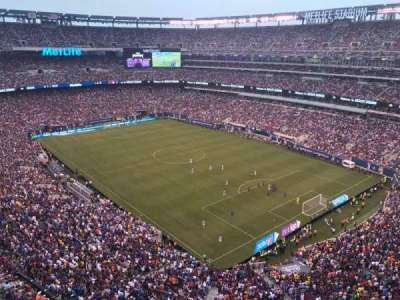 MetLife Stadium, vak: 306, rij: 5, stoel: 20