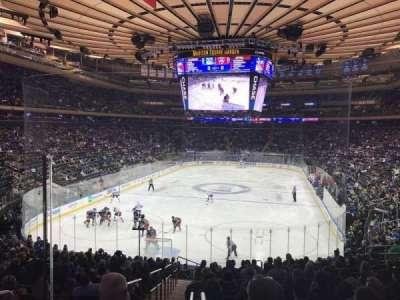 Madison Square Garden, vak: 103WC, rij: 20, stoel: 4