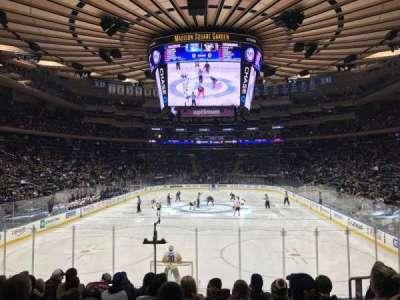 Madison Square Garden, vak: 112, rij: 12, stoel: 15