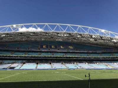 ANZ Stadium, vak: Aisle 128, rij: B, stoel: 40