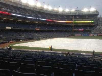 Yankee Stadium, vak: 116, rij: 25, stoel: 4