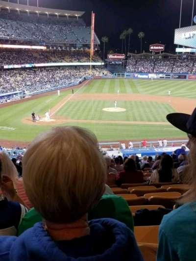 Dodger Stadium, vak: 126LG, rij: S, stoel: 2