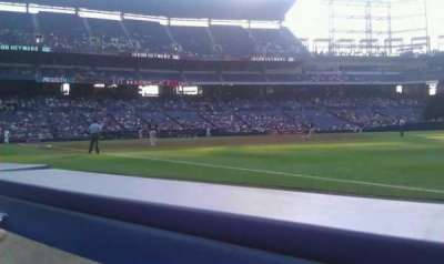 Turner Field, vak: 121R, rij: 1, stoel: 5