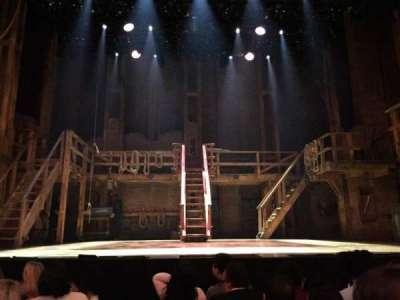 Richard Rodgers Theatre, vak: ORCH, rij: E, stoel: 108
