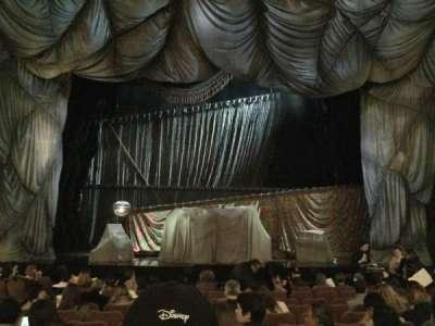 Majestic Theatre, vak: ORCHC, rij: J, stoel: 106