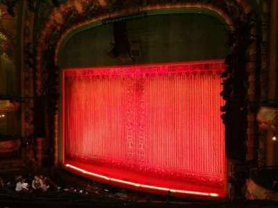 New Amsterdam Theatre, vak: MEZZ, rij: CC, stoel: 14