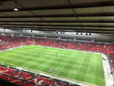 Old Trafford, vak: N4408, rij: 3, stoel: 24