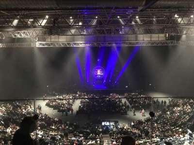 Arena Birmingham, vak: Show deck, rij: Stools, stoel: 8