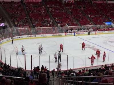 PNC Arena, vak: 123, rij: Z, stoel: 1