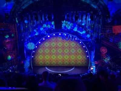 Palace Theatre (Broadway), vak: MEZZ, rij: J, stoel: 102