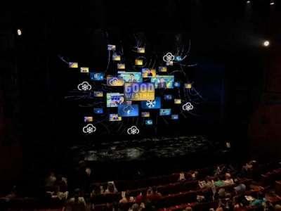 August Wilson Theatre, vak: MEZZL, rij: D, stoel: 1