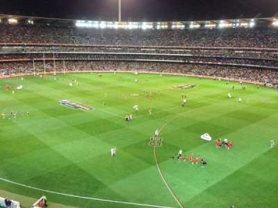 Melbourne Cricket Ground, vak: Q13, rij: 2, stoel: 4