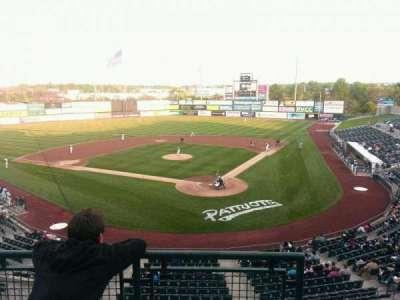 TD Bank Ballpark, vak: Suite 306, rij: C, stoel: 1