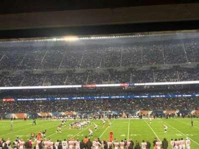 Soldier Field, vak: 108, rij: 16, stoel: 19
