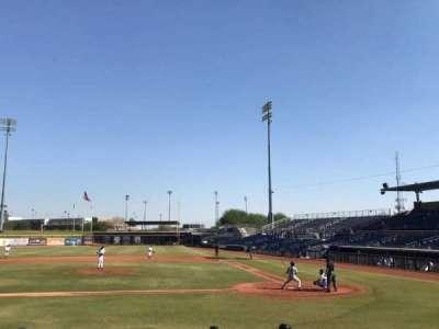 Peoria Sports Complex, vak: 107, rij: N, stoel: 4