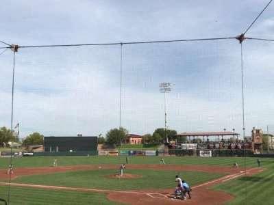 Scottsdale Stadium, vak: 203, rij: K, stoel: 8