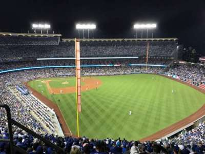 Dodger Stadium, vak: 58RS, rij: BB, stoel: 3